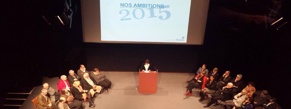 L'emploi à domicile : les ambitions pour 2015