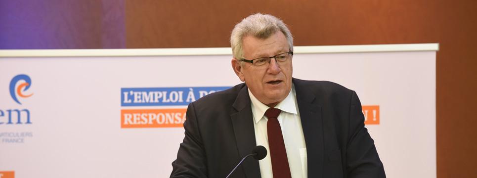 3 questions à… Christian Eckert, secrétaire d'Etat chargé du Budget