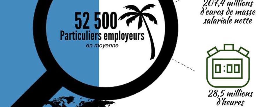 L'emploi à domicile dans les DOM : premier bilan 2015 !