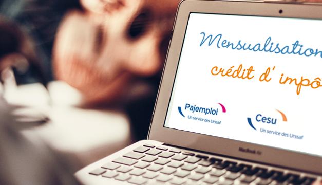 Mensualisation du crédit d'impôt pour les employeurs à domicile : un puissant levier de croissance à portée de main grâce au CESU et Pajemploi