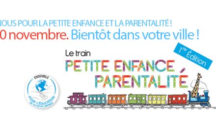 Le Réseau Particulier Emploi à bord du Train Petite Enfance et Parentalité !