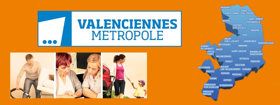 Une communauté de 6 points infos sur le territoire de Valenciennes Métropole !