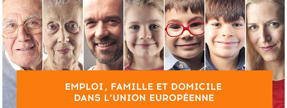 Pour une  reconnaissance de l'emploi a domicile par l'Union européenne !