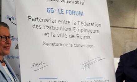 Signature d'une convention avec la Ville de Reims