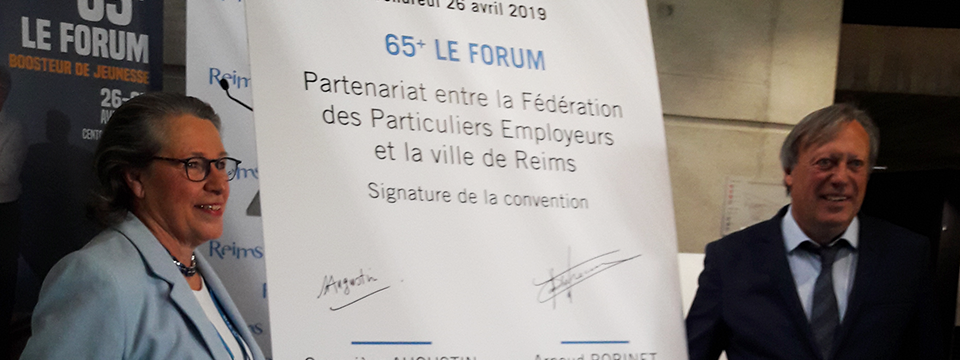 Signature d'une convention avec la Ville de Reims