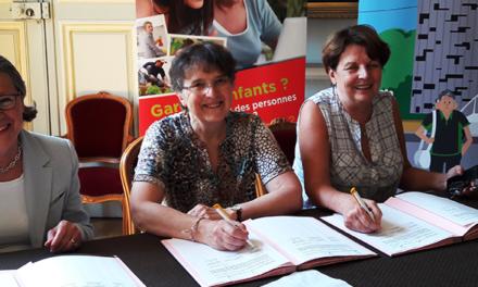 Signature d'une convention avec le CCAS et la ville de Metz