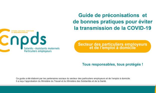 Prévention COVID-19 : un guide de préconisations et de bonnes pratiques pour faciliter la reprise d'activité du secteur