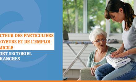 PARUTION DE L'EDITION 2020 DU RAPPORT SECTORIEL DES BRANCHES DU PARTICULIER EMPLOYEUR