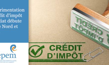 L'expérimentation du crédit d'impôt immédiat débute dans le Nord et à Paris