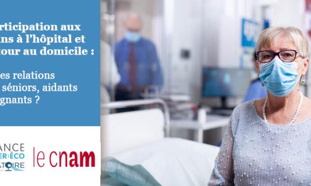 Participation aux soins à l'hôpital et retour au domicile : quelles relations entre séniors, aidants et soignants ?