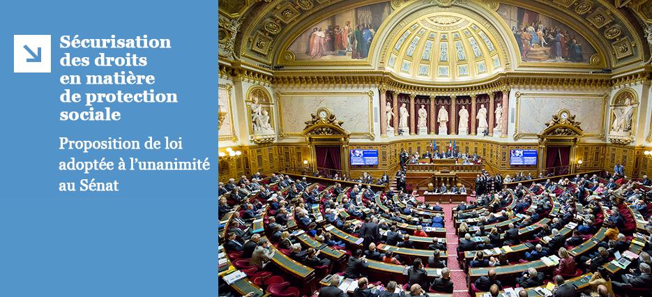 Sécurisation des droits en matière de protection sociale des assistants maternels et des salariés des particuliers employeurs : proposition de loi adoptée par le Sénat
