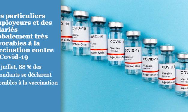 La vaccination dans le secteur de l'emploi à domicile